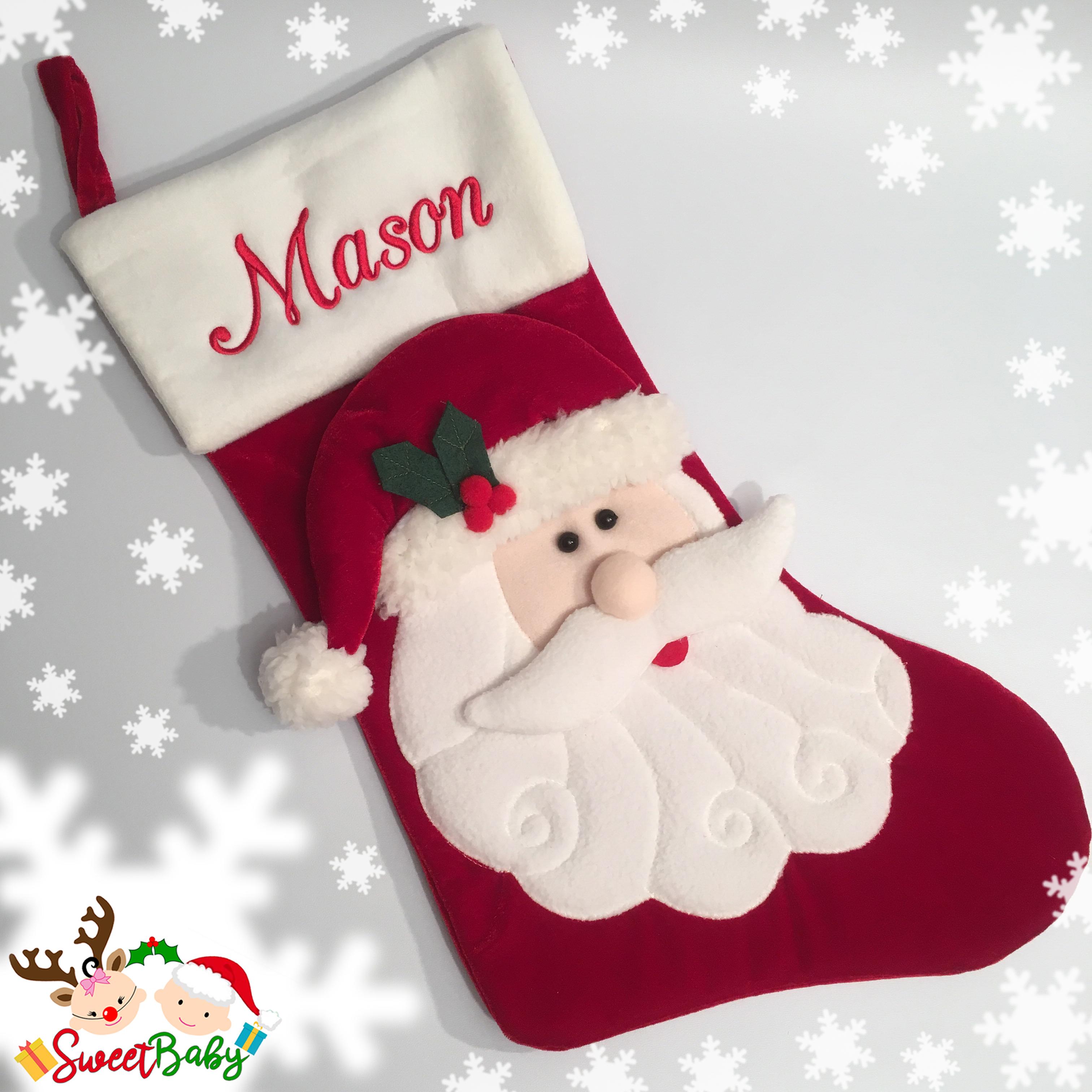 Personalised Santa Claus Stocking